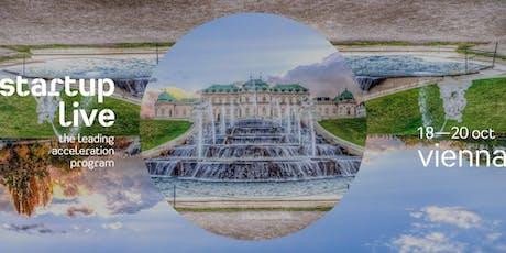 Startup Live Vienna — boost your startup tickets