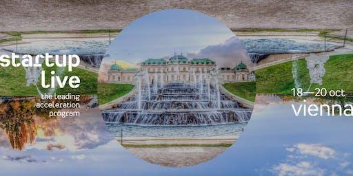 Startup Live Vienna — boost your startup