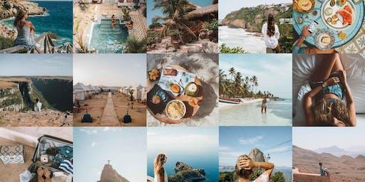 2o workshop FOTOS + FEED para o Instagram por Anna Laura no RJ