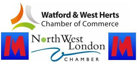 Watford & NW London Chamber Connect - Metro Bank Harrow Networking Launch - 26th July 2019 tickets