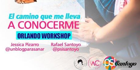 Workshop- El Camino que me lleva a Conocerme billets