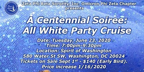 A Centennial Soiree: An All White Party Cruise tickets