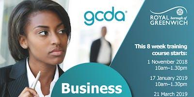 Business Start-up Training Thurs 19th September