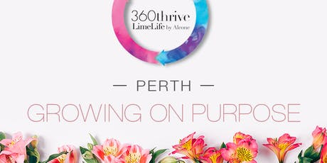 LimeLife by Alcone - Growing on Purpose - Perth tickets