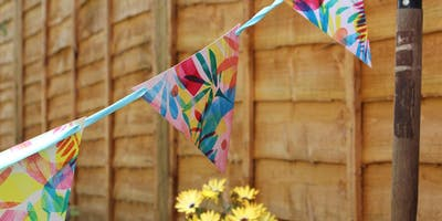 Children's Print Your Own Bunting Workshop