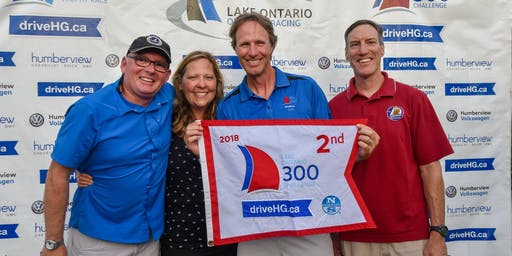 North Sails Flag Ceremony for the Susan Hood Trophy Race & Lake Ontario 300