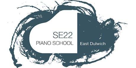 SE22 Piano School Recital in Dulwich Village tickets
