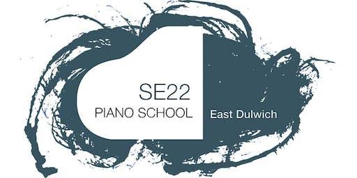 SE22 Piano School Recital in Dulwich Village