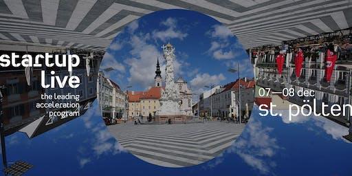 Startup Live St. Pölten — boost your startup