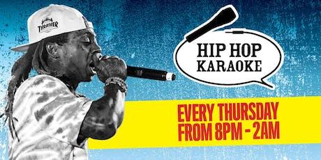 Hip Hop Karaoke at Queen of Hoxton tickets