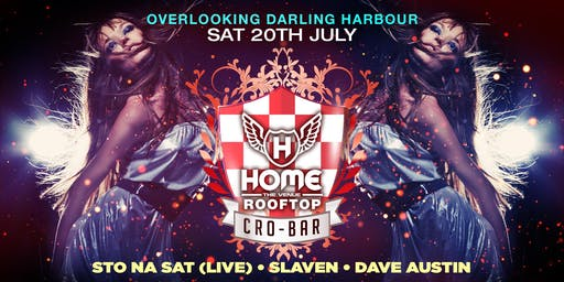 Cro-Bar Sat 20th July Home Rooftop