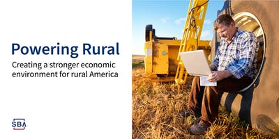 Rural Strong Workshop: Powering Rural Small Businesses