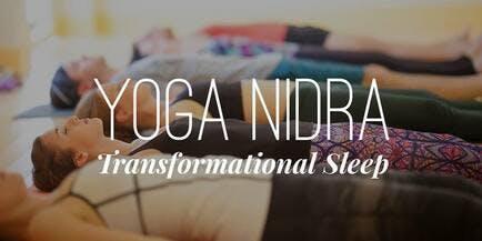 A yoga workshop of breath, meditation and yoga nidra