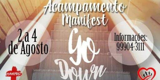 Acampamento GO DOWN - Jovens e Adolescentes (Manifest)
