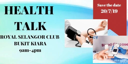 Health Talk with Free Screening & Consultation