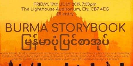 Burma Storybook - Charity Film Night tickets