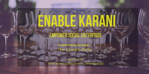 Enable Karani Launch Party