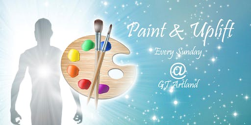 GT Artland Paint and Uplift Motivational Paint Class