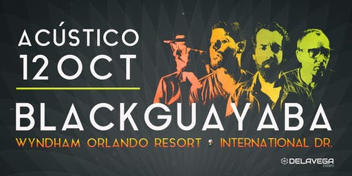 Acústico BLACK GUAYABA Orlando FL