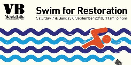 Swim for Restoration 2019 – Sunday 8 Sept event at Victoria Baths tickets