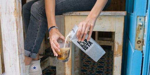 Oatly & Isla - Zero Waste Latte Art Throwdown