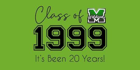 Mayfield High School - Class of 1999 - 20 YEAR REUNION tickets