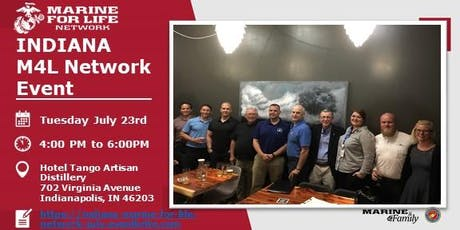 Indiana Marine For Life July 23rd,  2019 Networking Event tickets