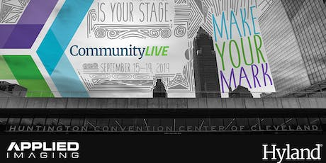 CommunityLIVE, hosted by Applied Imaging tickets