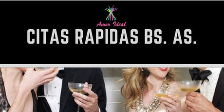 CITAS RAPIDAS / SPEED DATING entradas