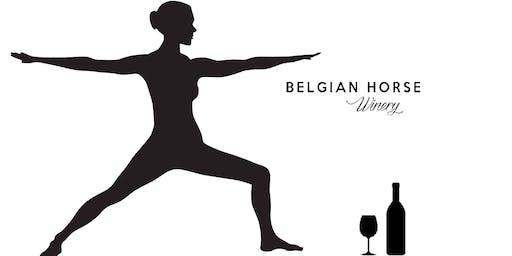 Wine and Yoga July!