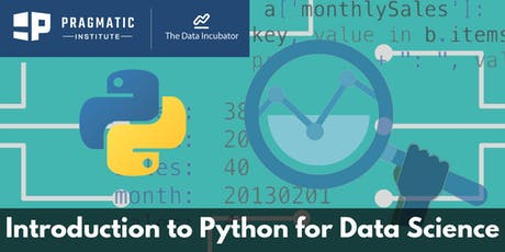 Introduction to Python for Data Science Workshop (Online) tickets