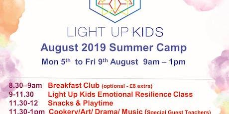 August 5th - 9th Light Up Kids Summer Scheme tickets