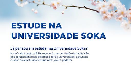 Estude na Universidade Soka!