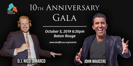 Deaf Focus' 10th Anniversary Gala tickets