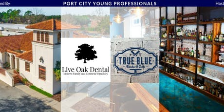 PCYP Networking Social Hosted by True Blue Butcher and Table & Sponsored by Live Oak Dental tickets