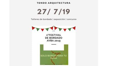 1º Festival de Bordado AVBA 2019