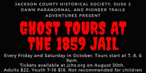 Ghost Tours at the 1859 Jail Museum