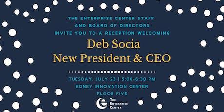 Welcome Reception for Deb Socia tickets