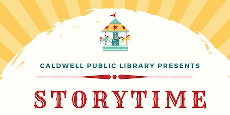 Caldwell Public Library Presents Storytime tickets