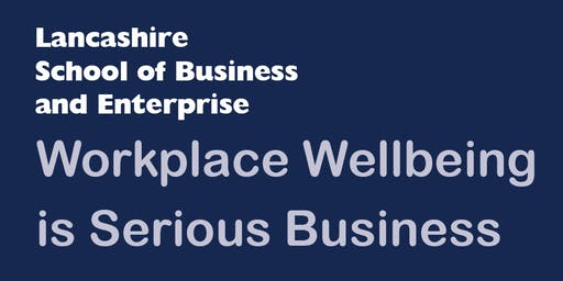Workplace Wellbeing is Serious Business (Two-Part Workshop)