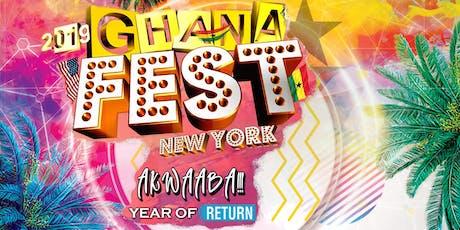 Ghana Fest-NY 2019 tickets