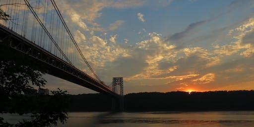 NYC Wild! Bridges of New York: George Washington Bridge Sunset/Fort Lee Park, NJ Photography & Nature Walk