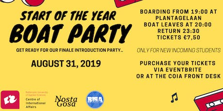 CoIA Boat Party tickets