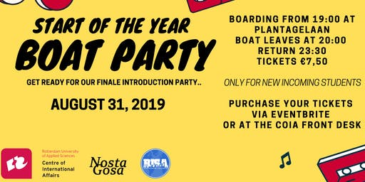 CoIA Boat Party