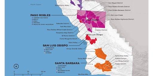 Wine Education 201: Central Coast, CA