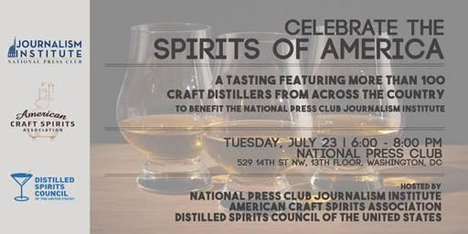Spirits of America: Craft Distiller Tasting at the National Press Club