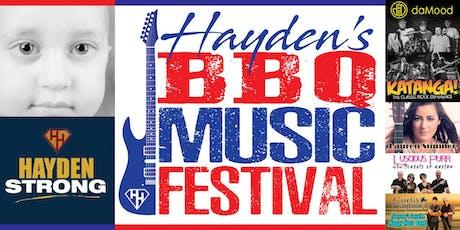 Hayden's BBQ Music Festival tickets