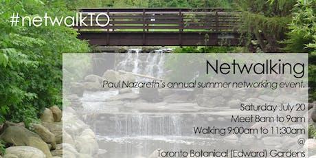 #NetwalkTO 2019 at Toronto Botanical Gardens tickets