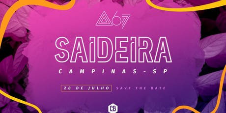 Saideira - Campinas ingressos