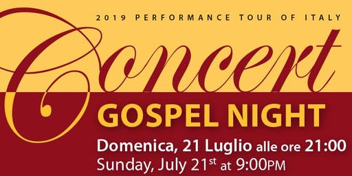 La notte del Gospel a Milano!